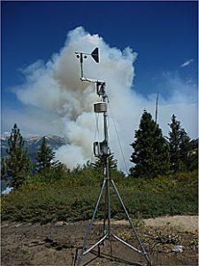气象站野火监测