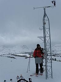 滑雪爱好者的安全U30气象站